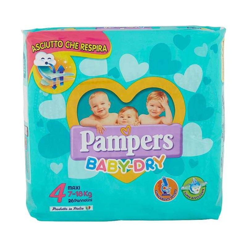 Pampers BABY DRY Maxi x26