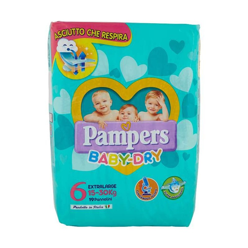 Pampers BABY DRY Extralarge...